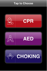 Resuscitation iPhone app
